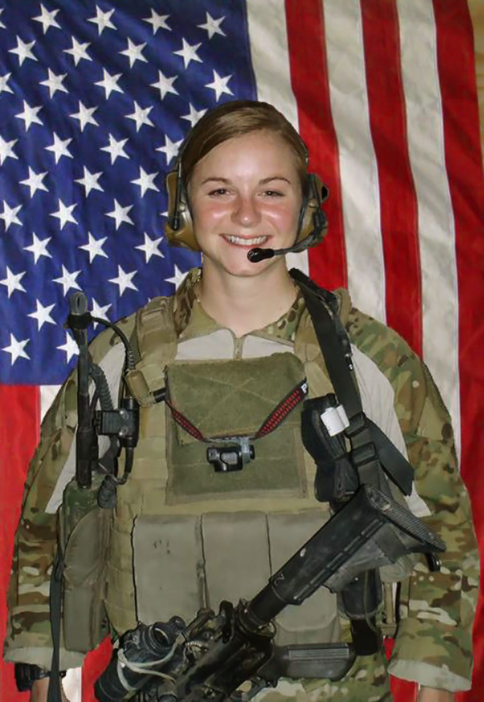 U.S. Army First Lieutenant Ashley White, 24, of Alliance, Ohio