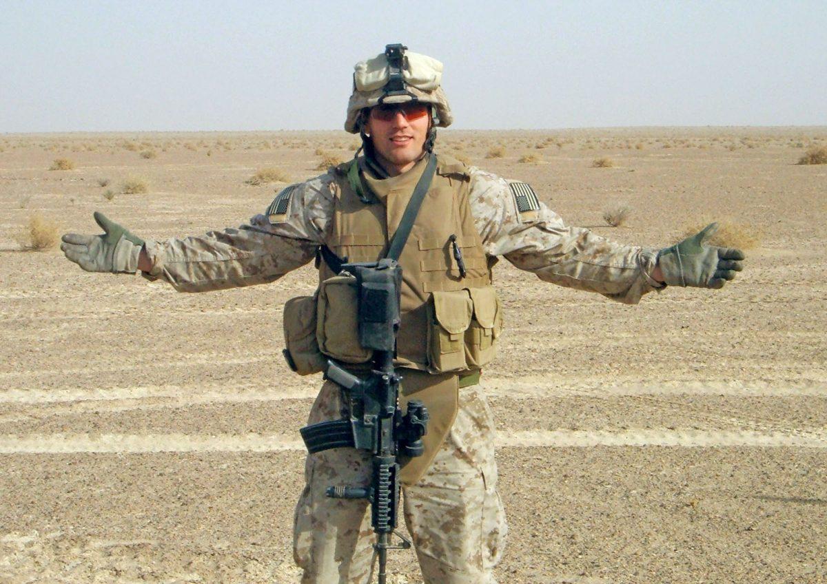 First Lieutenant Travis Manion, 26, of Doylestown, Pennsylvania