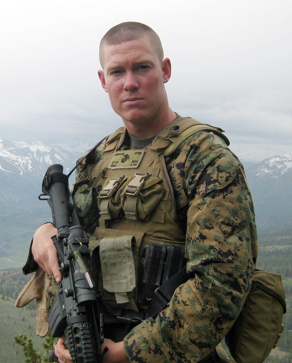 1st Lt. Michael E. Johnson, 25, of the U.S. Marine Corps
