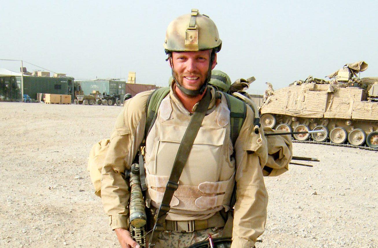 Danish Army Sgt. René Brink Jakobsen of Vang, Denmark