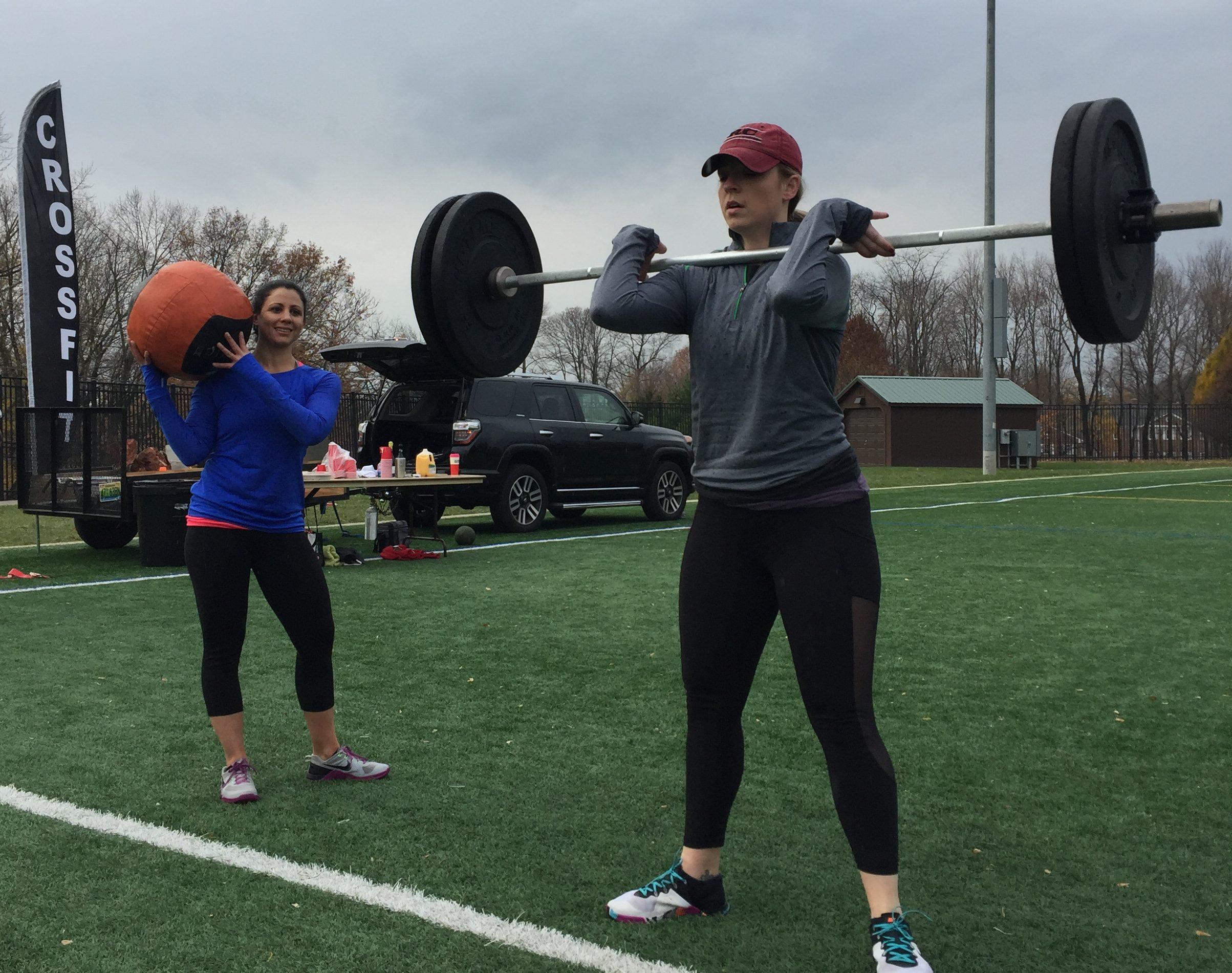 Coach Lea and Talia